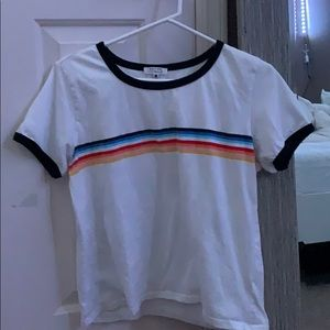 Tops - 8 striped tee
